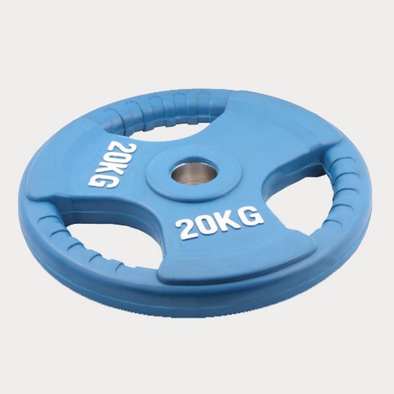 Диск Олимпийский обрезиненный BenCarFitness TS-0931 20 кг