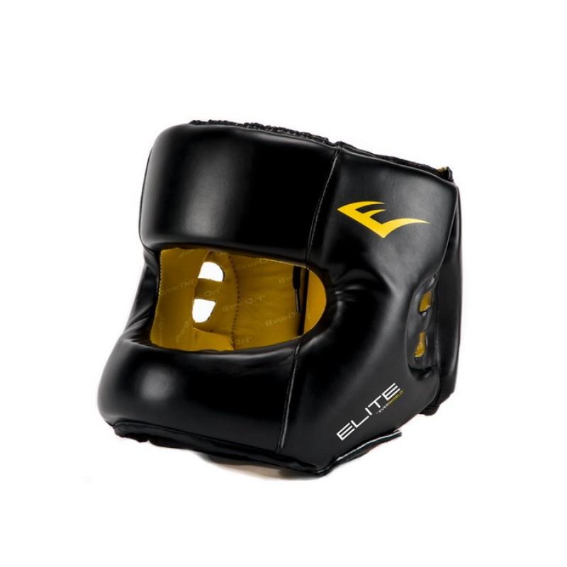 Шлем Everlast Elite PU L/XL черный P00001211