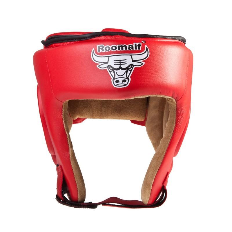 Шлем боксерский Roomaif RHG-146 PL красный