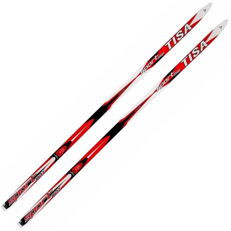 Лыжи беговые Tisa Sport Jr. Step N91118 красный