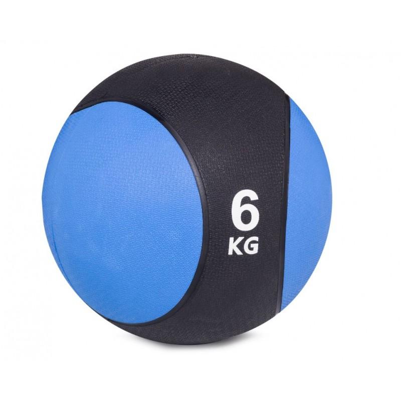 Медбол BenCarFitness TS-6300/6 (6 кг) син/черн.