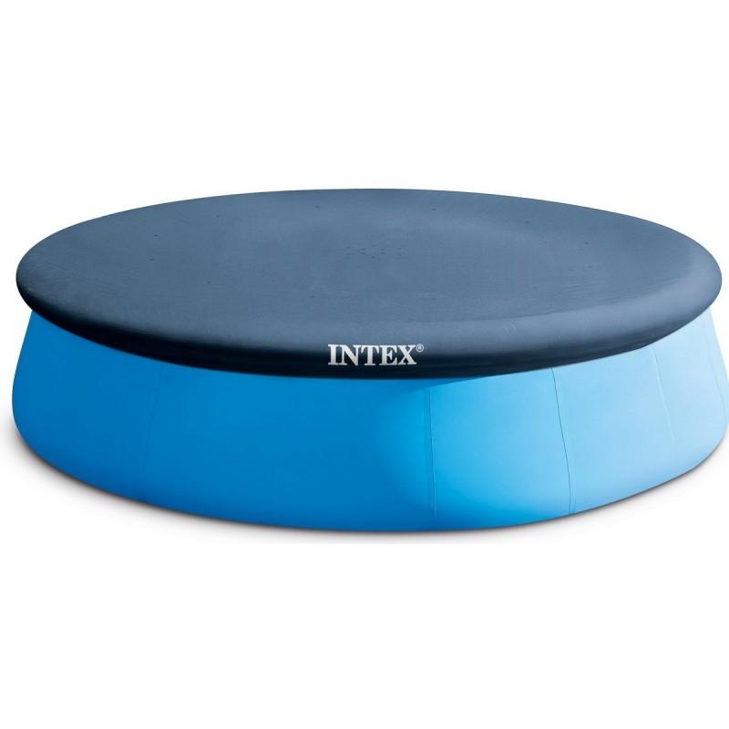 Тент для круглого бассейна надувного d396см Intex 28026