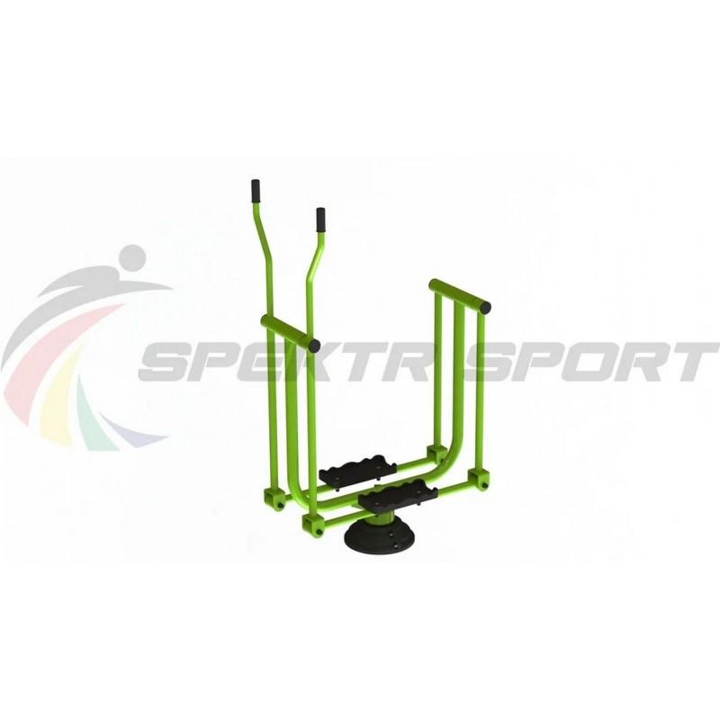 Уличный тренажер взрослый Лыжник для одного Spektr Sport ТС 123