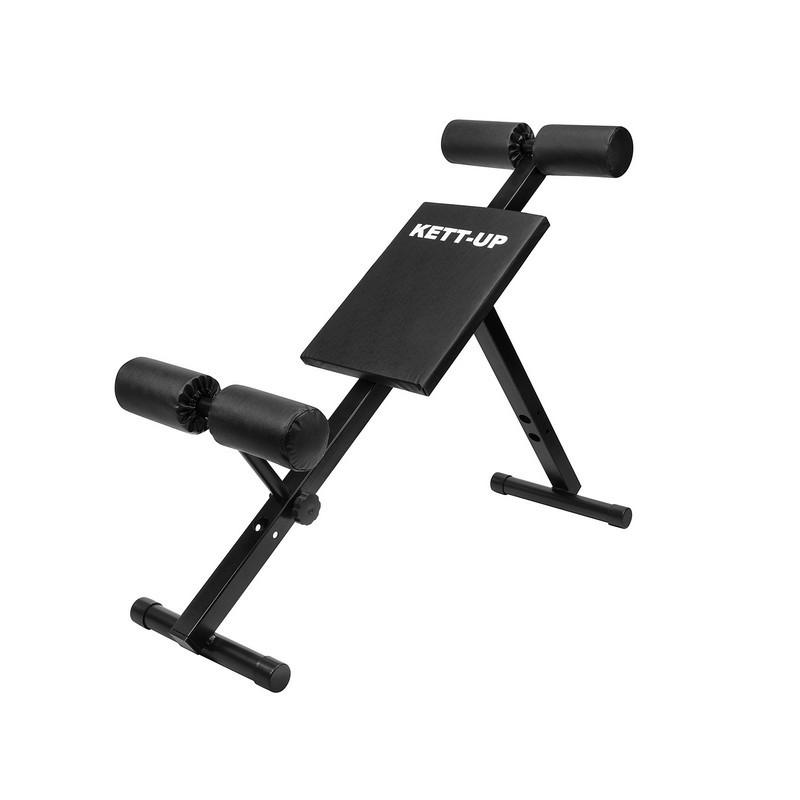 Скамья для тренировки спины (гиперэкстензия) и пресса Kett-UP KRAFT KU199