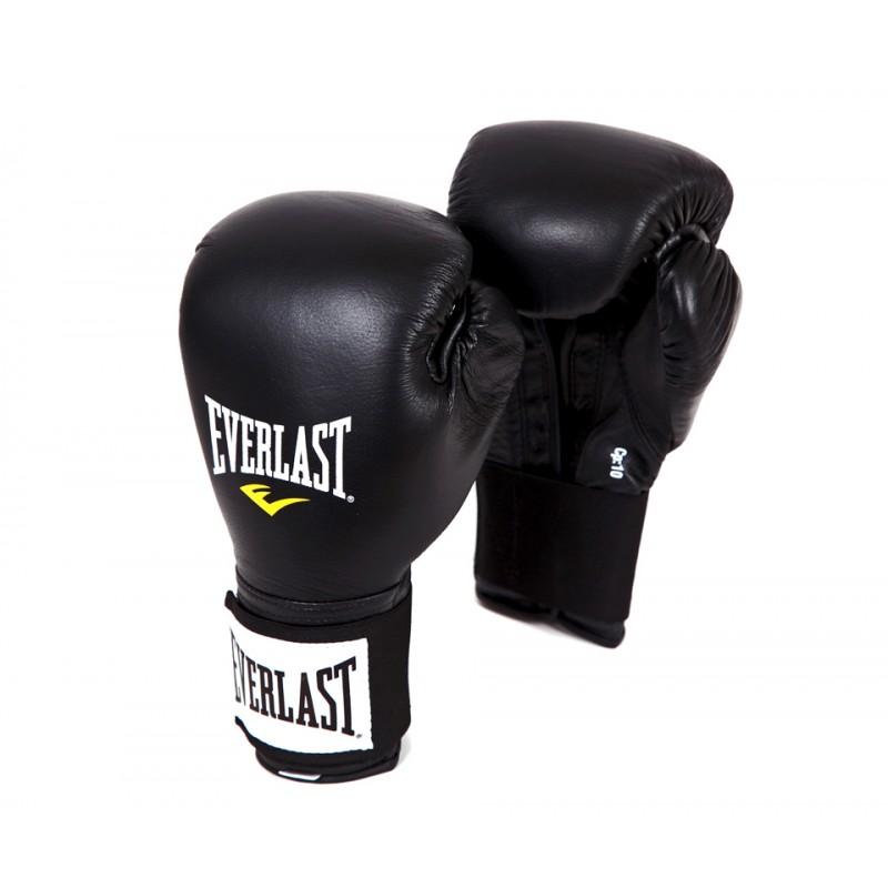 Перчатки тренировочные Everlast 141001U черный, 10 oz