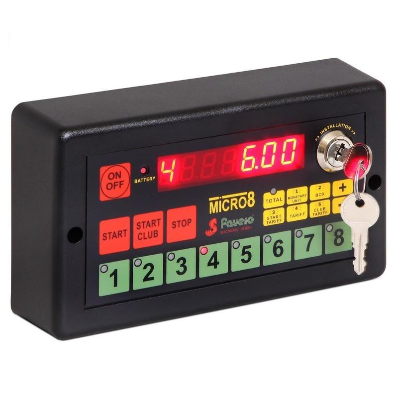 Система контроля игрового времени до 8 столов Favero Micro-8 03643