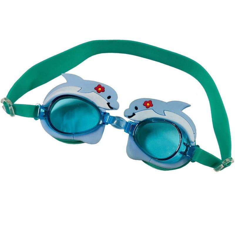 Очки для плавания B31577-0 Голубой дельфин