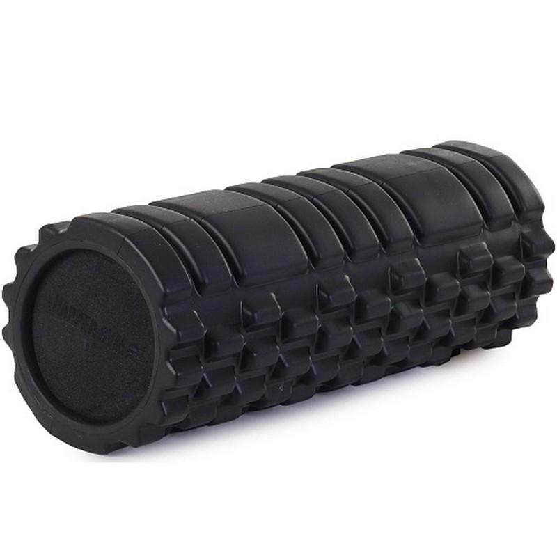 Цилиндр рельефный для фитнеса Harper Gym EG02 ?13х33 см чёрный