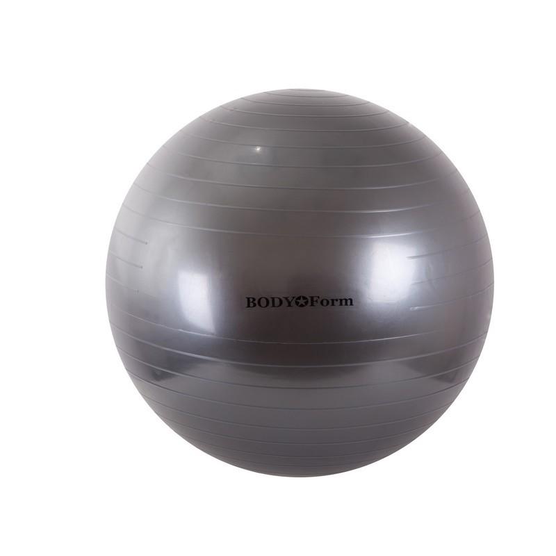 Гимнастический мяч Body Form BF-GB01 D65 см. графитовый