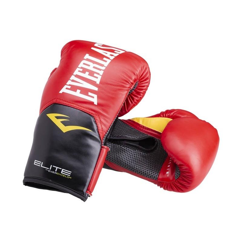 Перчатки боксерские Everlast Elite ProStyle P00001243-8, 8oz, к/з, красный
