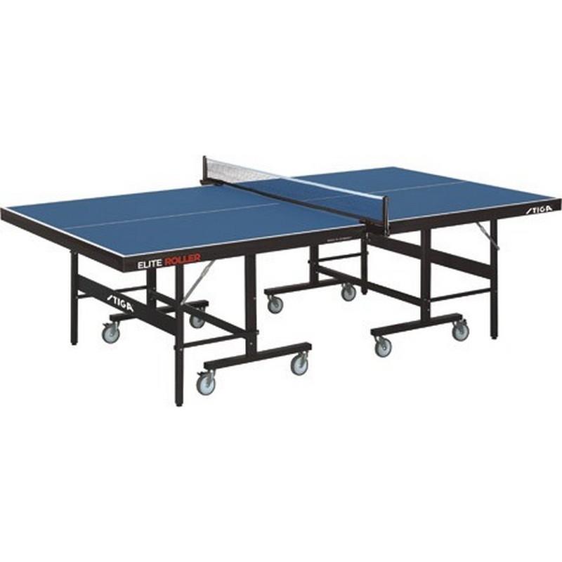 Теннисный стол Stiga Elite Roller CSS 25 мм (синий)