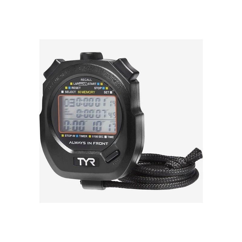 Секундомер TYR Z-200 Stopwatch, LSWSTOP\001 черный