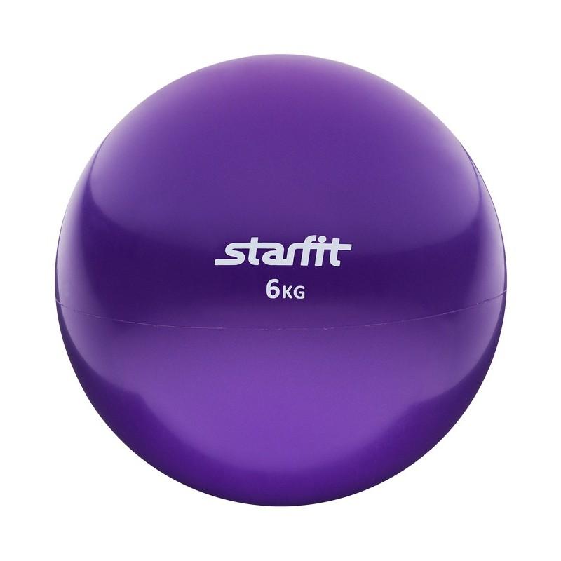 Медбол 6 кг Star Fit GB-703 фиолетовый