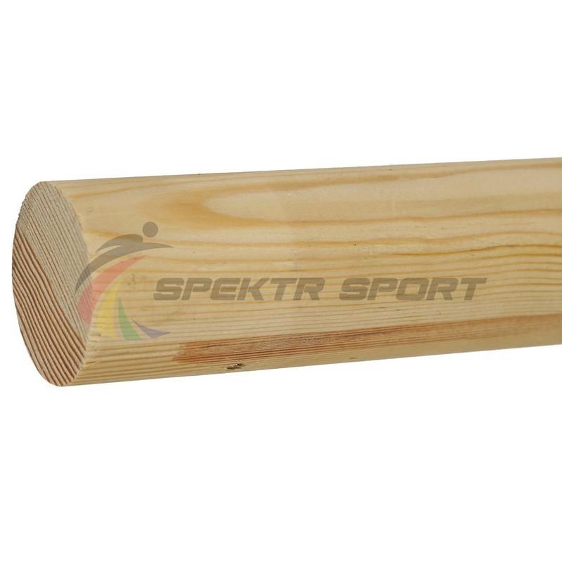 Деревянный поручень для хореографических станков 1,5 м, Сосна Spektr Sport