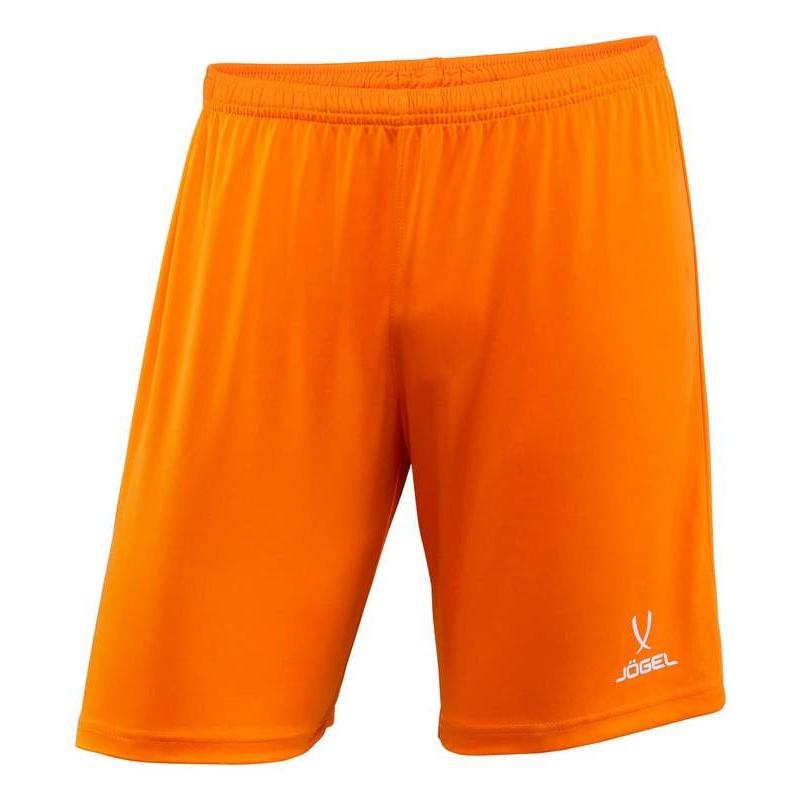 Шорты футбольные J?gel JFT-1120-O1, оранжевый/белый