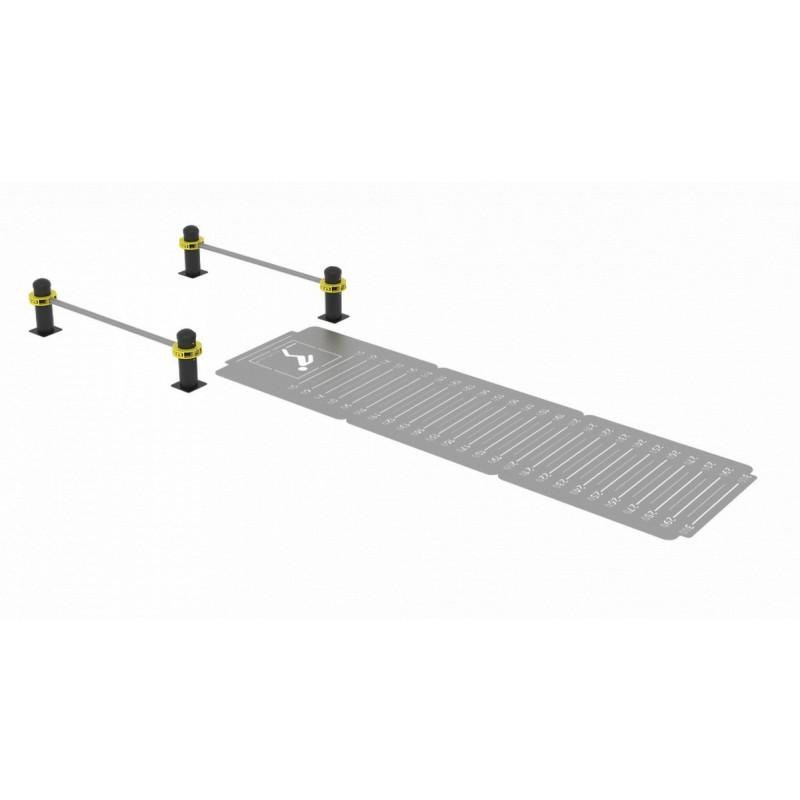 Комплекс для выполнения испытания «прыжок в длину с места толчком двумя ногами» Iron King S722