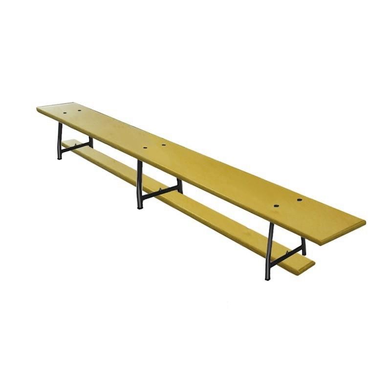 Скамейка гимнастическая 200см фанерная, ножки метал. Dinamika ZSO-000030