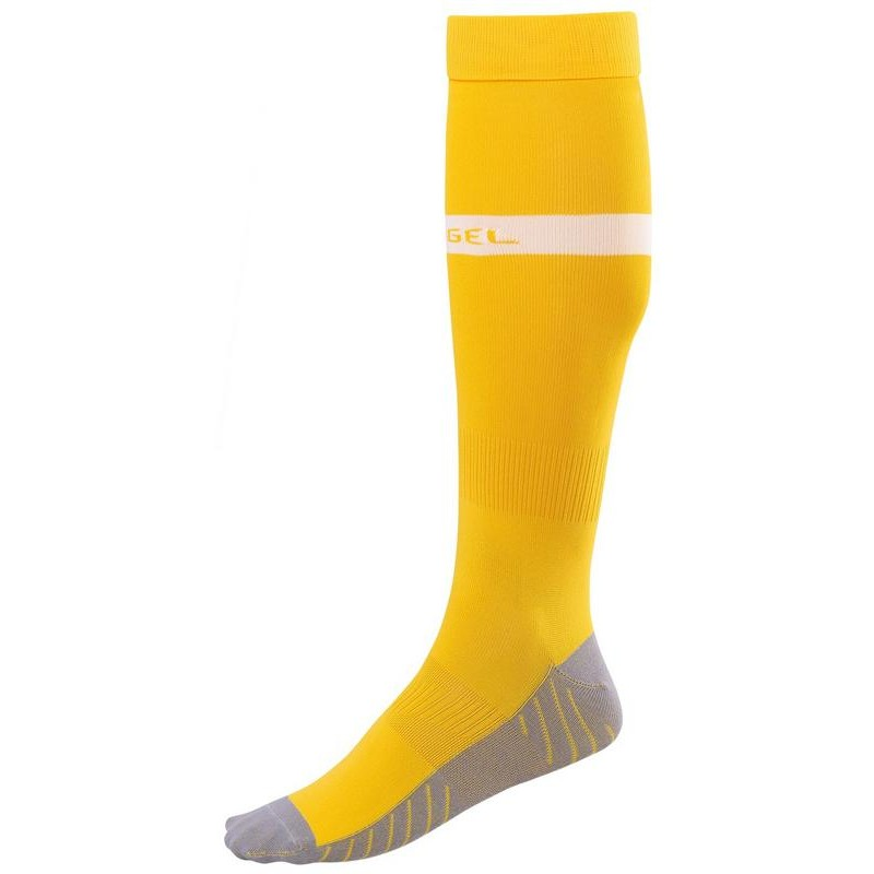Гетры футбольные J?gel JA-003 желтый/белый