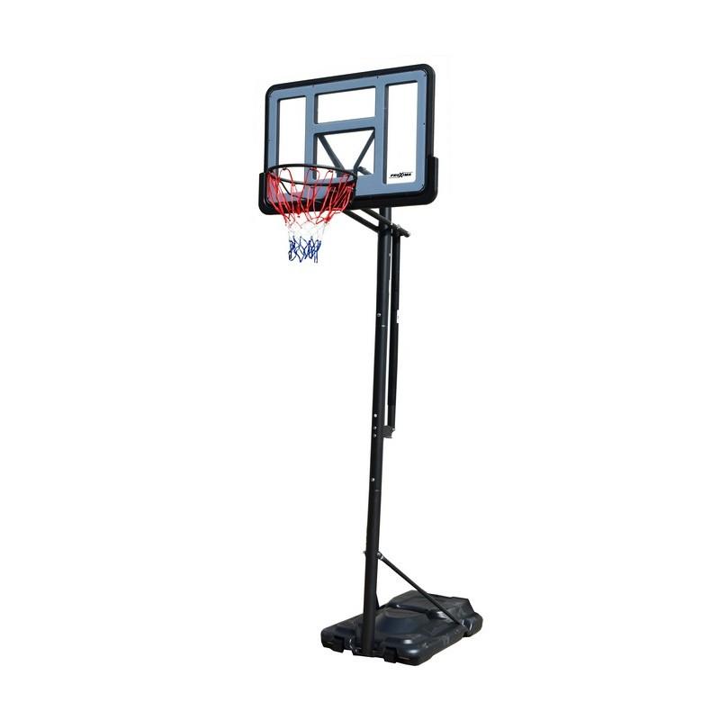 """Мобильная баскетбольная стойка Proxima 44"""", поликарбонат, S021"""