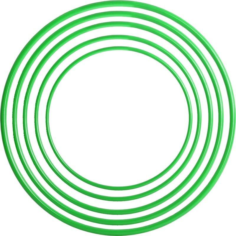 Обруч пластмассовый 60см зеленый