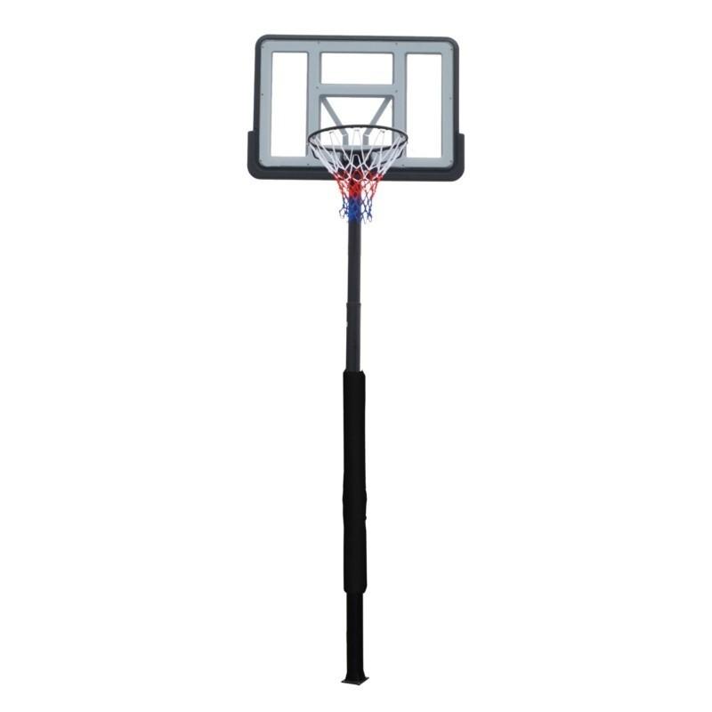 Баскетбольная стационарная стойка 112x75cm акрил DFC ING44P3