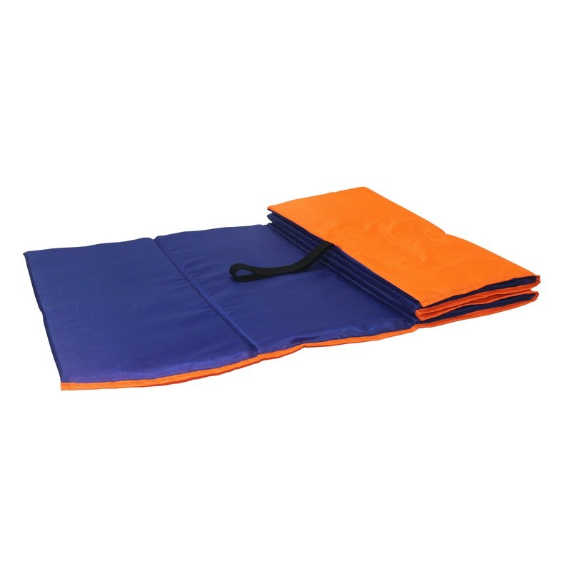 Коврик гимнастический Body Form 150x50x1 см BF-001 оранжевый-синий