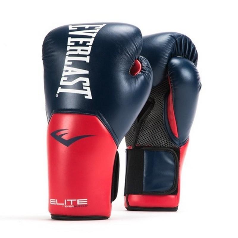 Перчатки тренировочные Everlast Elite ProStyle 8 oz син/красн P00001203-8