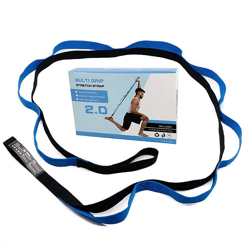 Эспандер эластичная лента 2,5x200 см в коробке (синяя) B31607