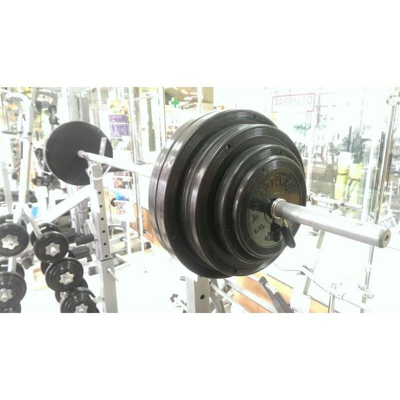 Штанга тренировочная 75кг V-Sport СТ-513