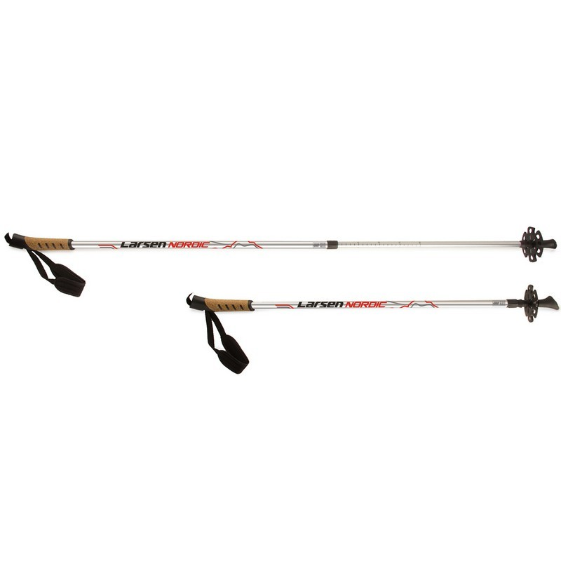 Палки для скандинавской ходьбы Larsen Nordic раздвижные 90-140 см