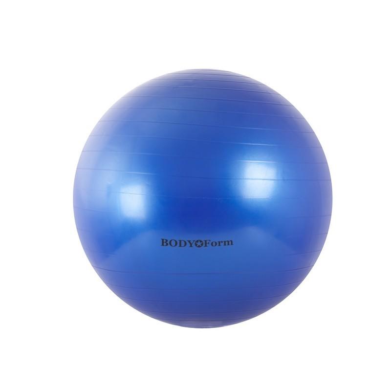 Гимнастический мяч Body Form BF-GB01 D65 см. синий
