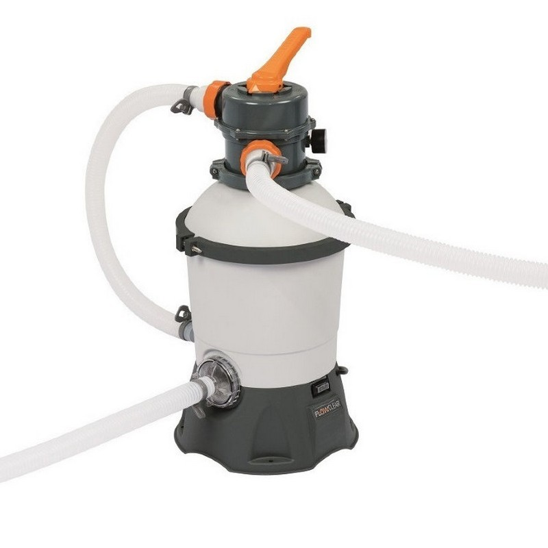 Песочный фильтр-насос 2006 л/ч, резервуар для песка 8,5 кг Bestway 58515