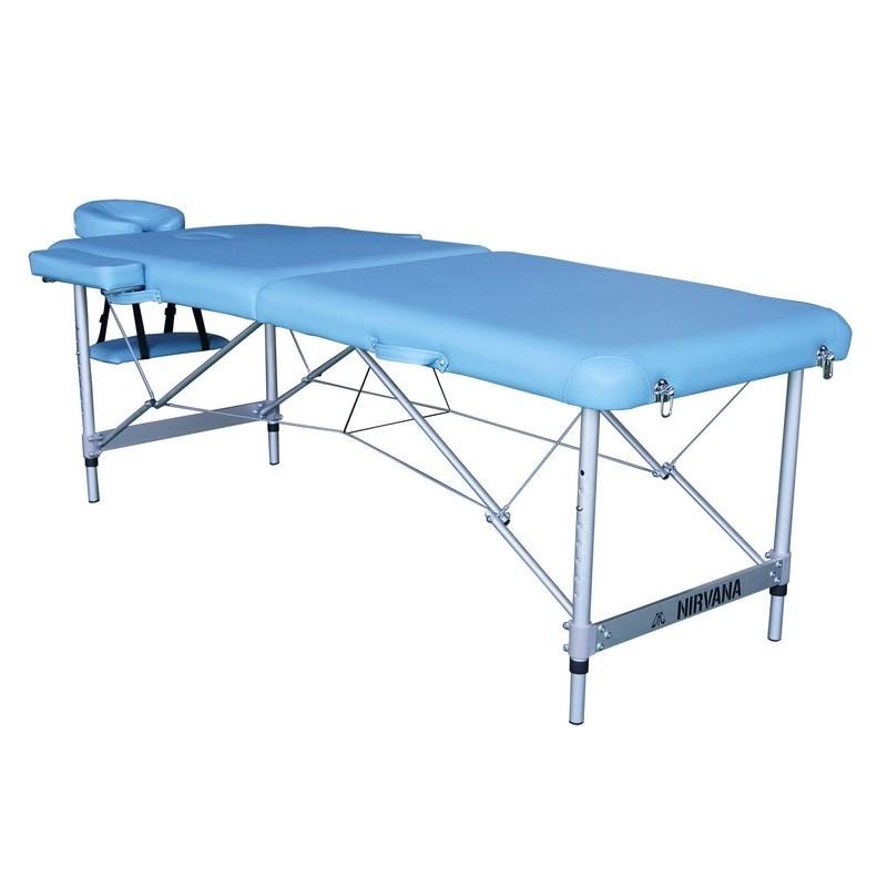 Массажный стол DFC Nirvana, Elegant Luxe TS2010_Bu светло голубой