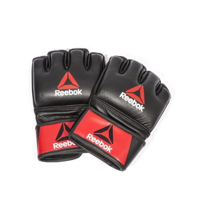 Перчатки для MMA Reebok Combat Leather Glove Large RSCB-10330RDBK