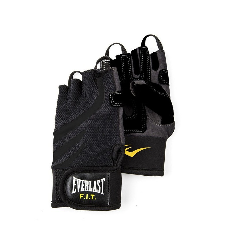 Перчатки для фитнеса Everlast FIT Weightlifting P00000713 черный\серый
