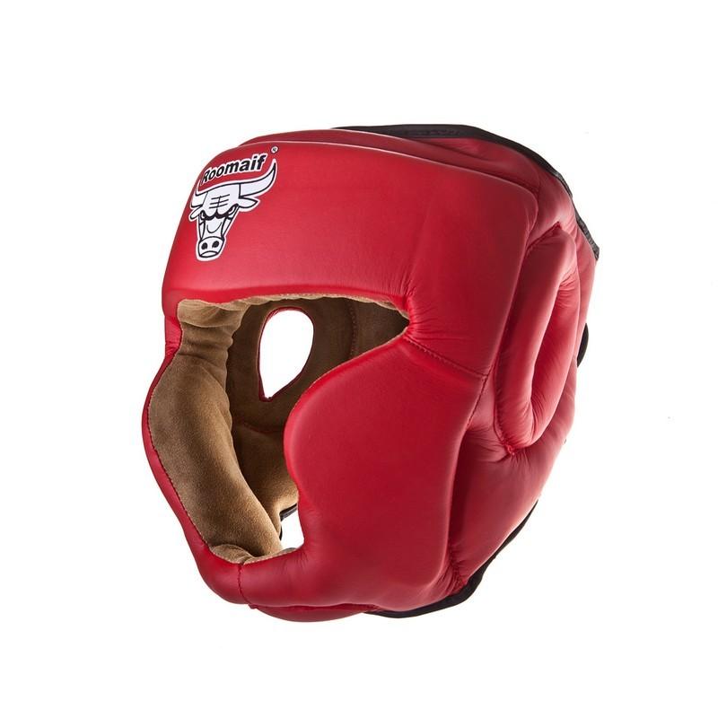 Шлем боксерский Roomaif RHG-140 PL красный