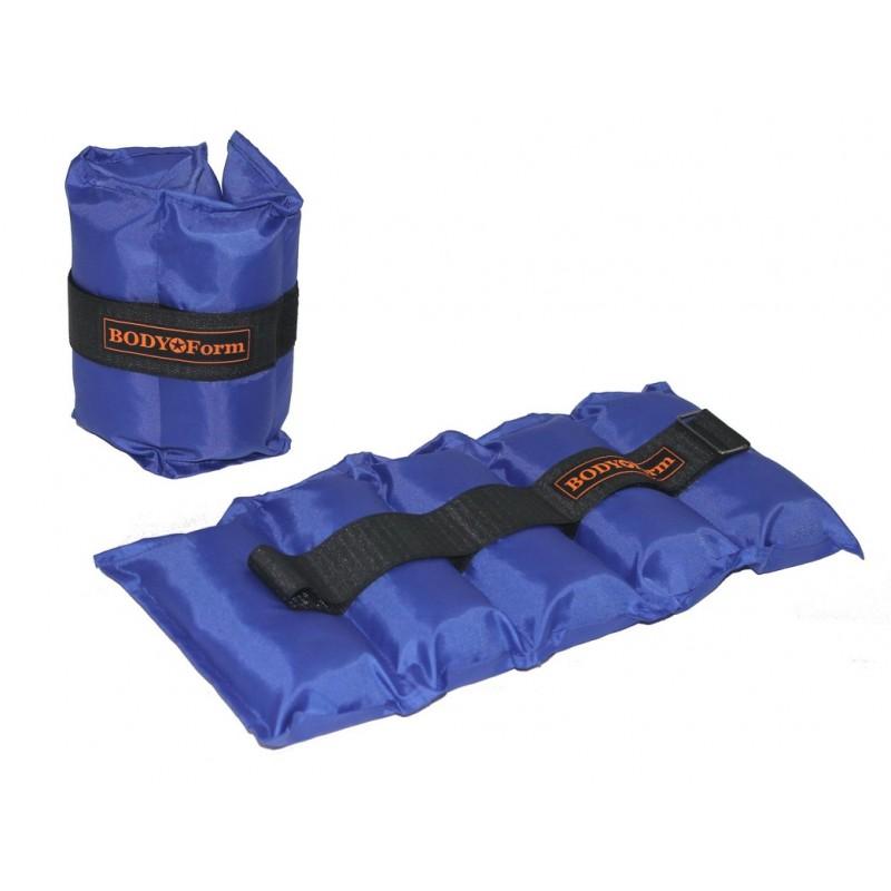 Утяжелитель универсальный 2x0,8кг Body Form BF-WUN01 синий