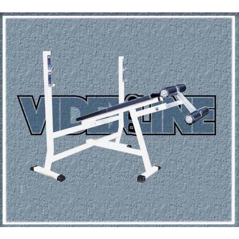 Скамья для жима лежа с отрицательным углом наклона Hercules В-005 2296