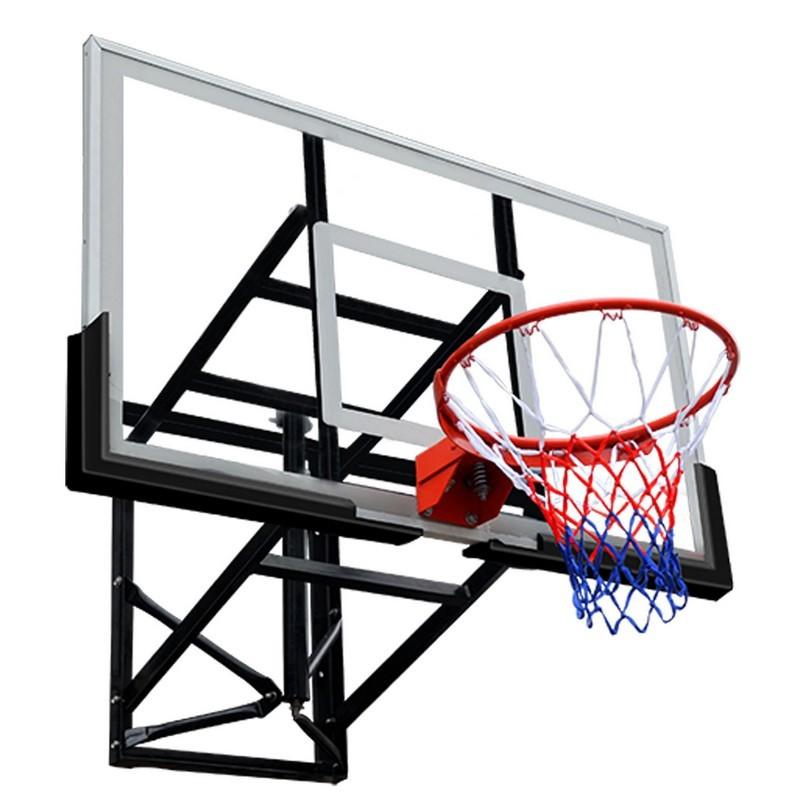 Баскетбольный щит DFC BOARD72G 180x105см стекло 10мм