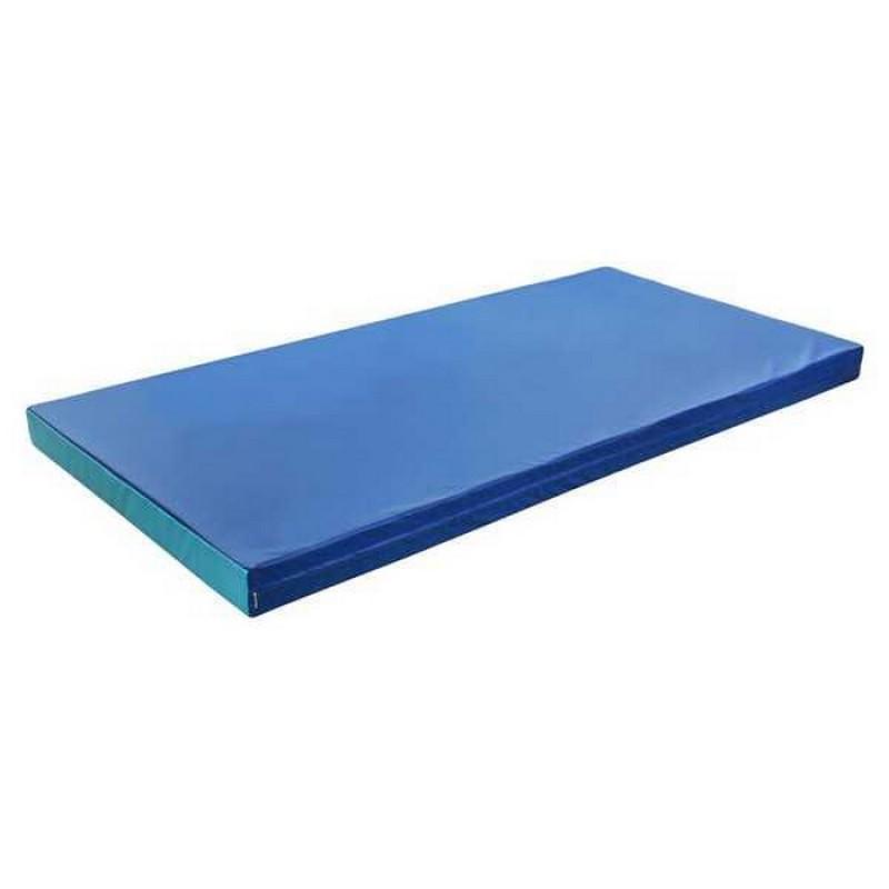 Мат гимнастический (1000*2000*100 мм) сине-голубой