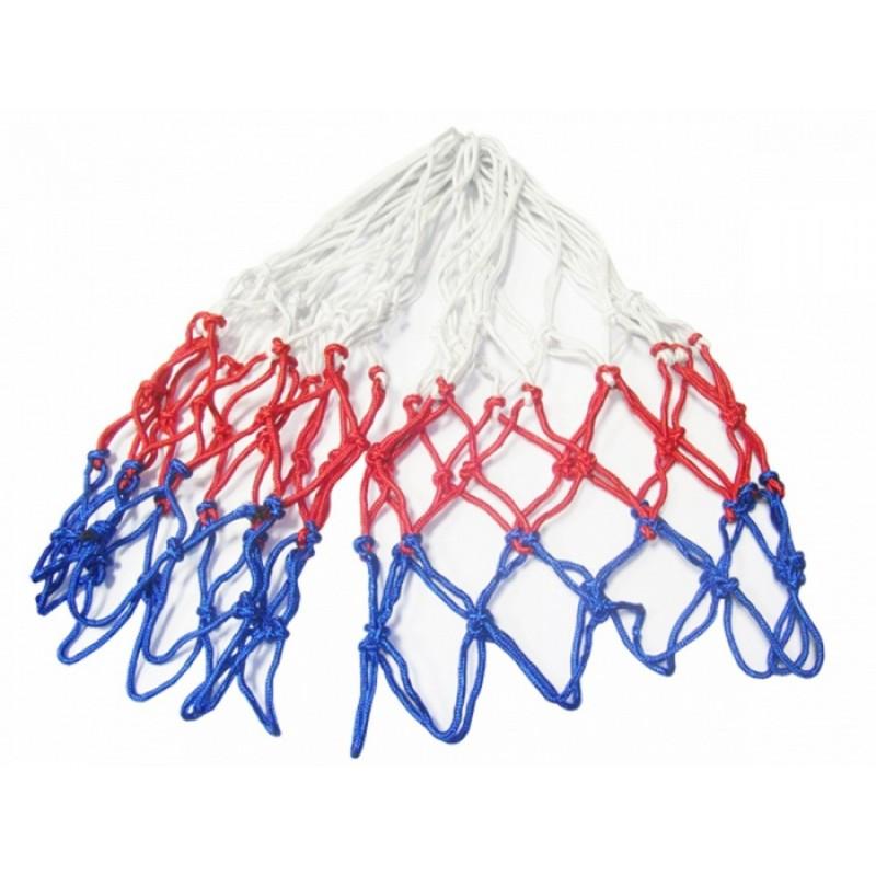 Сетка баскетбольная, шнуровая 4,0мм, ячейка 40мм FS-B-№3 цветная