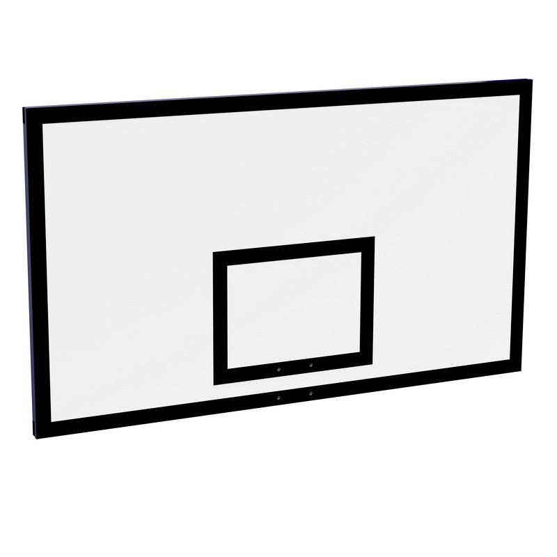 Щит баскетбольный ZSO игровой 1050х1800 мм, фанера (толщина фанеры 15 мм)