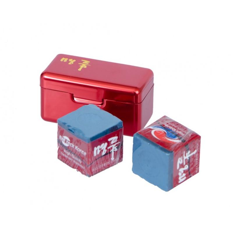 Мел Ball Teck PRO II (2 шт, в красной металлической коробке) 45.000.02.3 синий