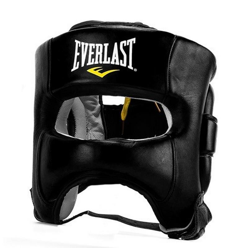 Шлем Everlast Elite Leather, черный