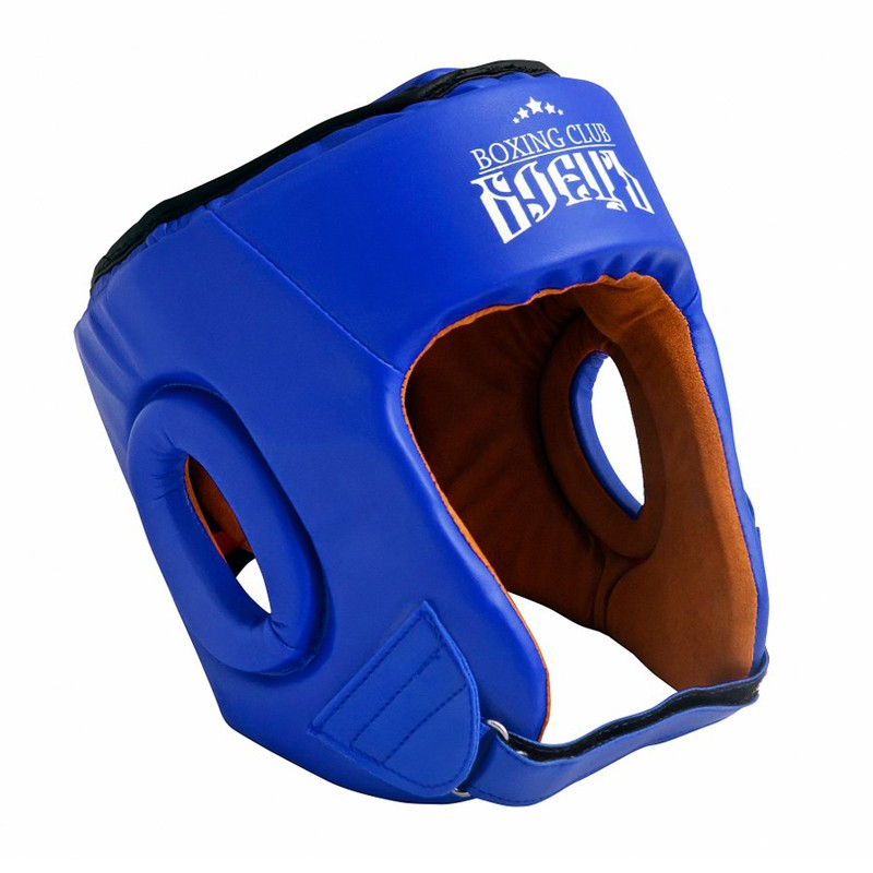 Шлем боксерский Боецъ BHG-22 Синий