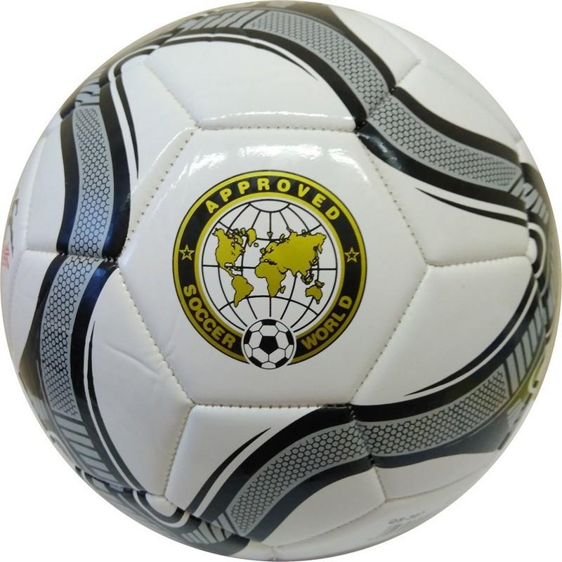 Мяч футбольный Meik 307 R18027-1 р.5 белый