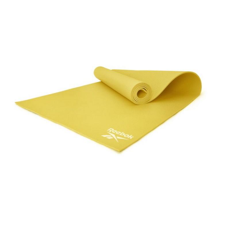 Тренировочный коврик (мат) для йоги 173x61x0,4 Reebok RAYG-11022YL желтый