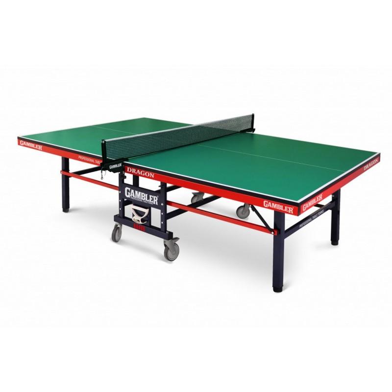 Стол теннисный Gambler Dragon GTS-8 green