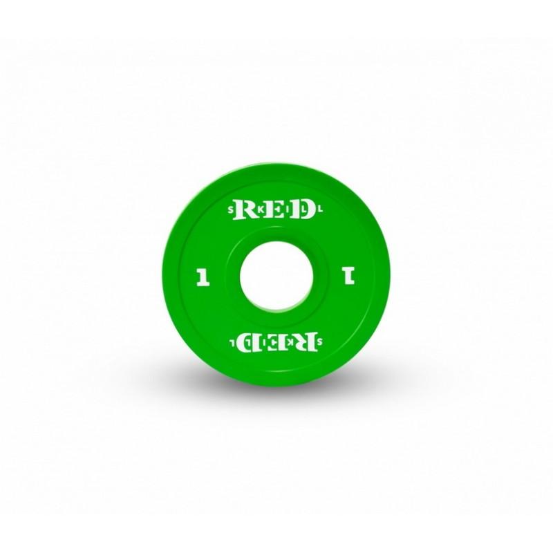 Диск малый RED Skill 1 кг