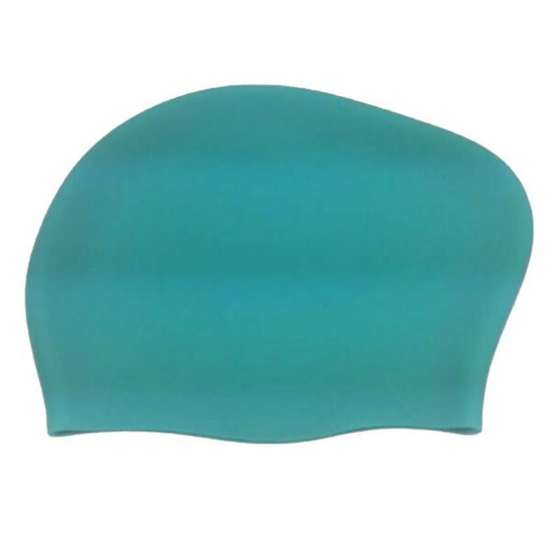 Шапочка для плавания SCL02 (с пучком) Turquoise